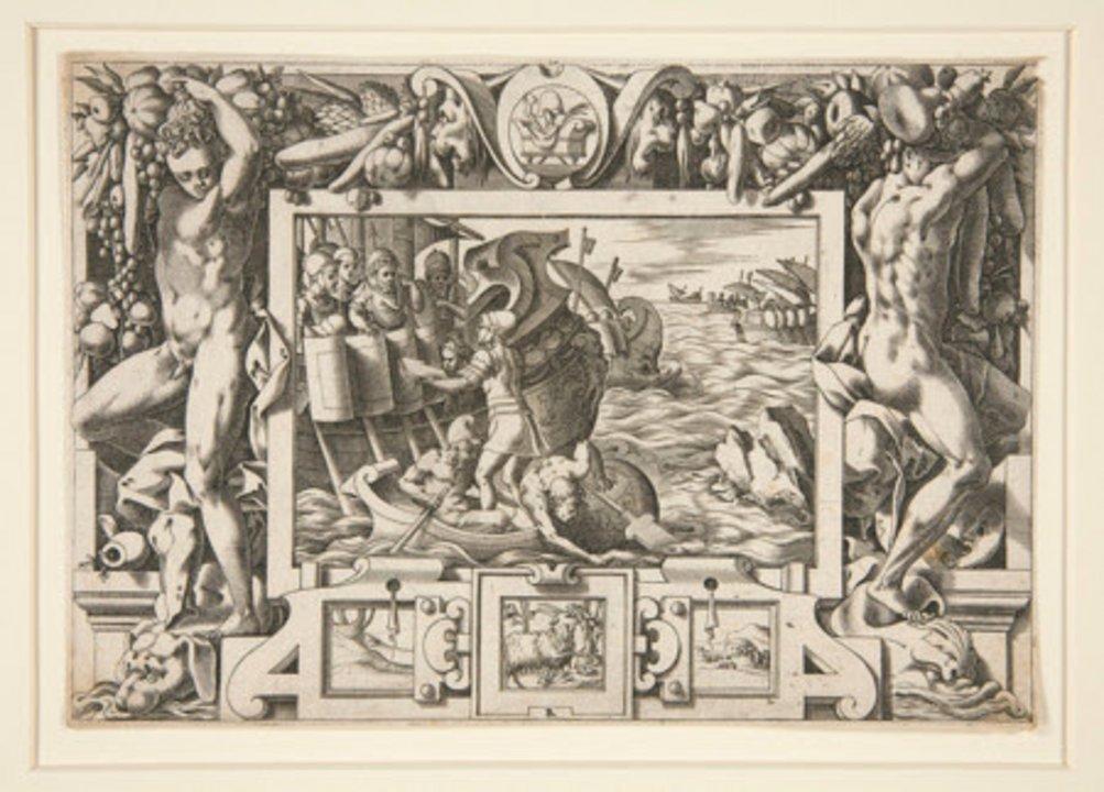 Originaria capital del reino de Colchis, se cree que Kutaisi podría ser el destino último de Jasón y sus Argonautas, el poema épico griego, en Argonautica. Diversos grabados de la Edad Media y Moderna representan a la ciudad y al encuentro entre Jason y el rey Aeëtes, como este de René Boyvin (realizado en 1563).