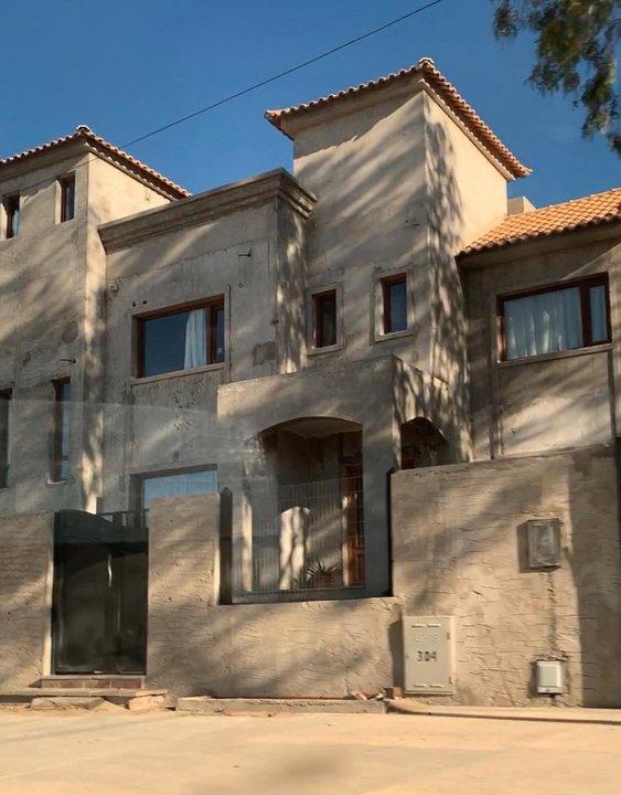 La casa de Juan Pablo Luque en Rada Tilly