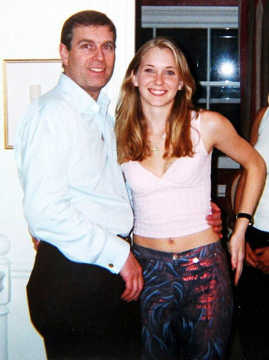 El príncipe Andrés y Virginia Roberts (ahora Giuffre) /The Grosby Group